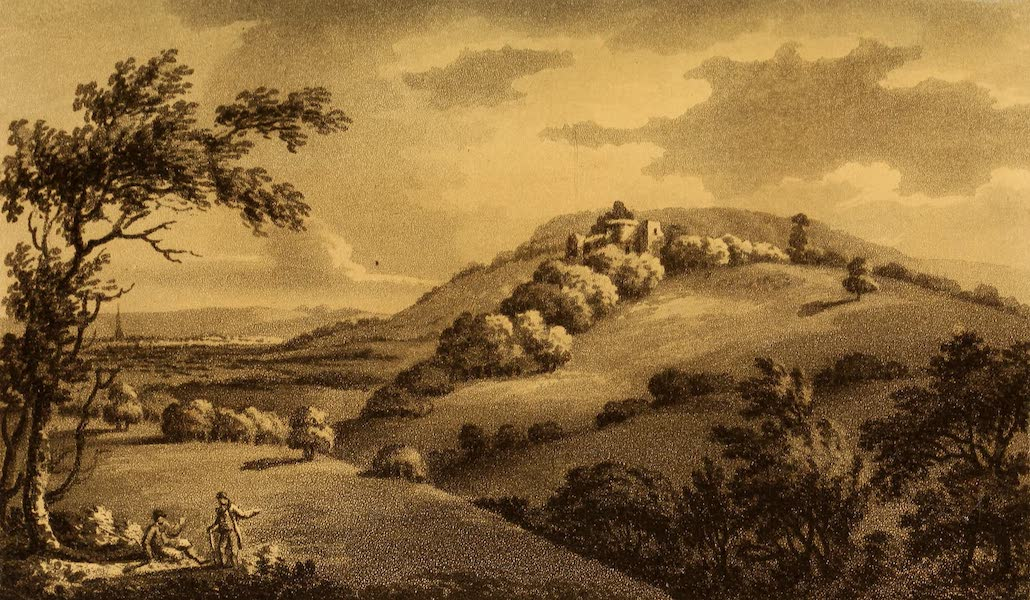 A Tour Throughout South Wales and Monmouthshire - Goodrich Castle (1803)