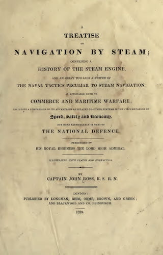 Aquatint & Lithography - A Treatise on Navigation by Steam