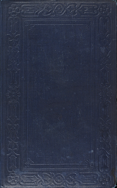 A Two Years Cruise off Tierra del Fuego Vol. 1 - Front Cover (1857)