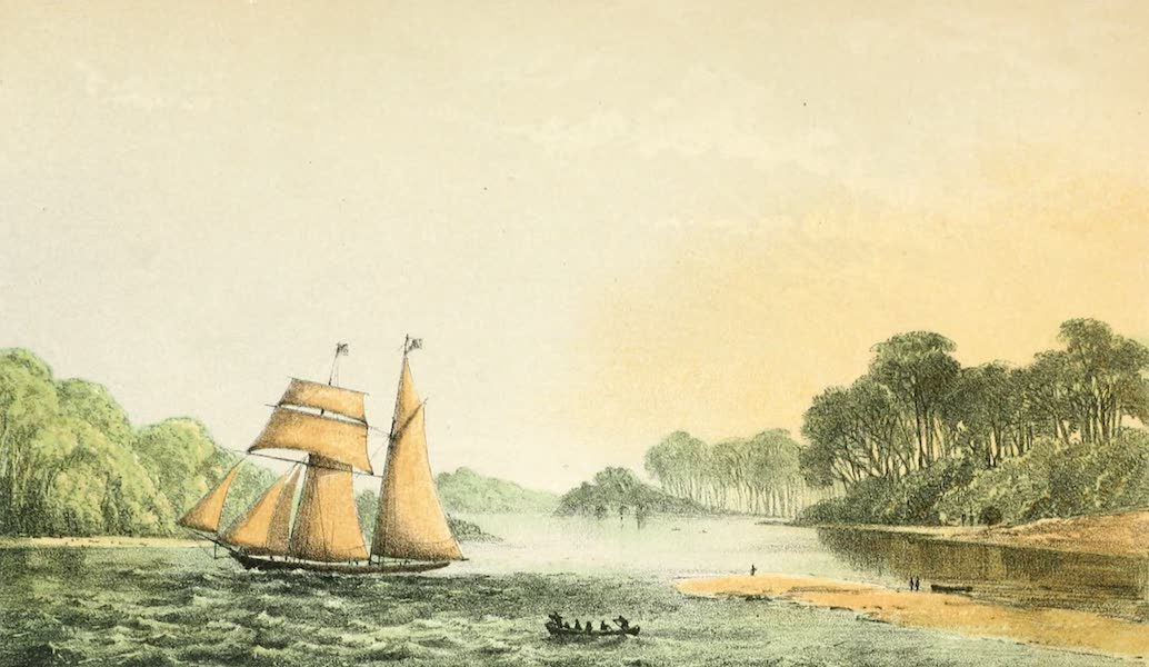 A Two Years Cruise off Tierra del Fuego Vol. 1 - Banner Cove, Picton Island (1857)