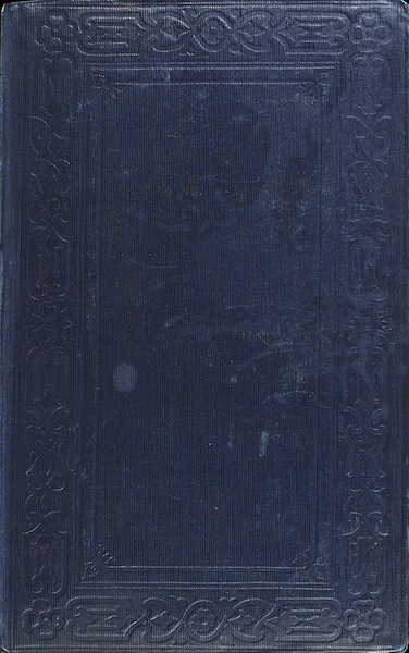 A Two Years Cruise off Tierra del Fuego Vol. 1 - Back Cover (1857)