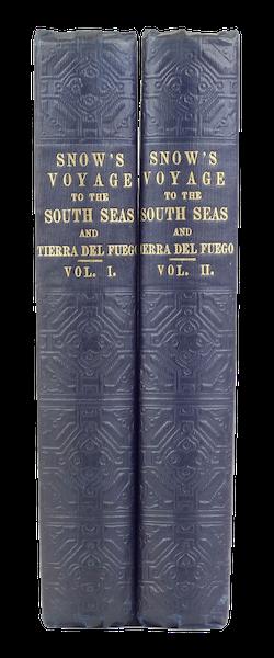 A Two Years Cruise off Tierra del Fuego Vol. 2 - Book Display (II) (1857)
