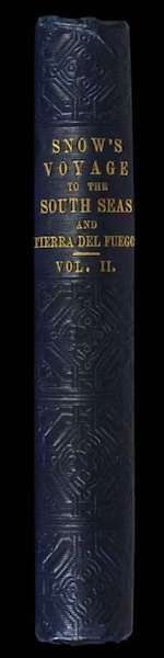 A Two Years Cruise off Tierra del Fuego Vol. 2 - Spine (1857)