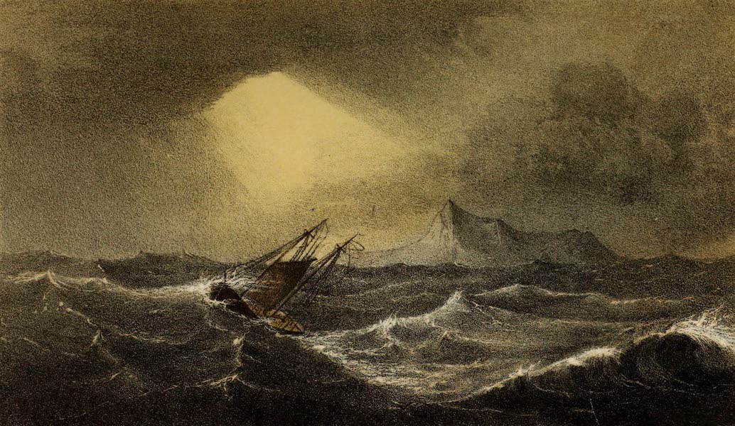 A Two Years Cruise off Tierra del Fuego Vol. 2 - A Heavy Gale off Cape Horn (1857)