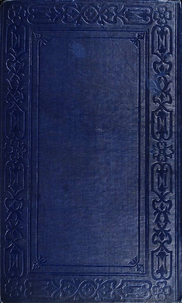 A Two Years Cruise off Tierra del Fuego Vol. 2 - Back Cover (1857)