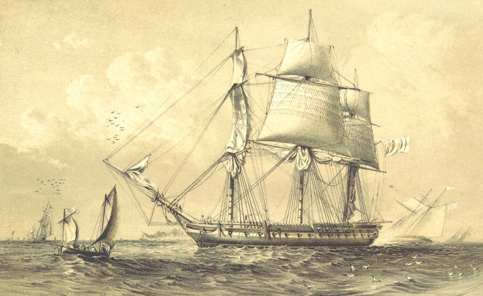 A Visit to the Indian Archipelago, in H.M.S. Maeander - H.M.S. Maeander - Casting from Spithead (1853)