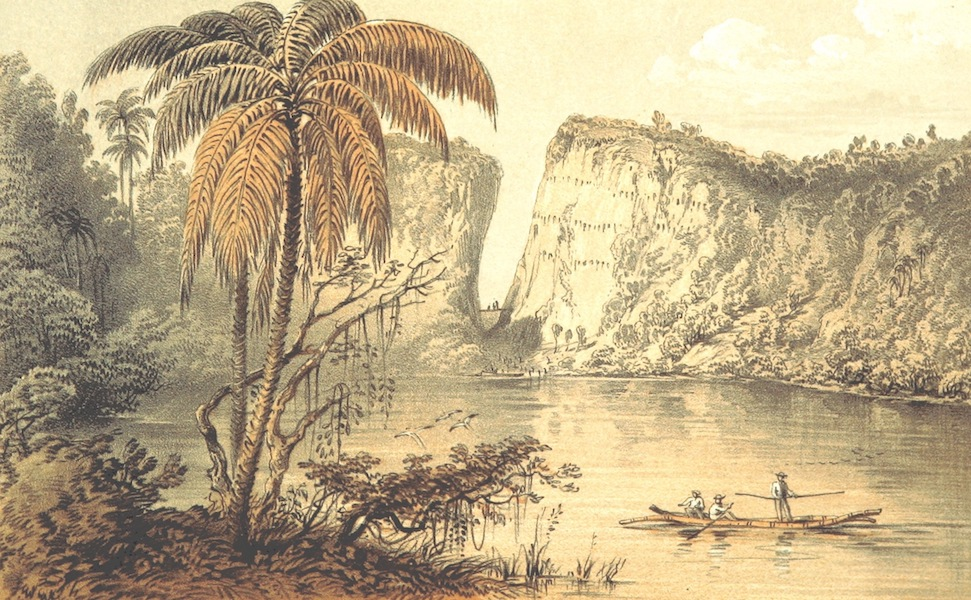 A Visit to the Indian Archipelago, in H.M.S. Maeander - Fresh Water Lake - Cagayan Sooloo (1853)