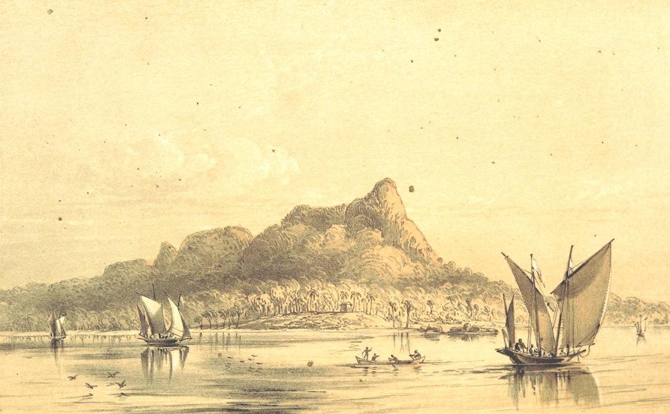 A Visit to the Indian Archipelago, in H.M.S. Maeander - Santabong Entrance (1853)
