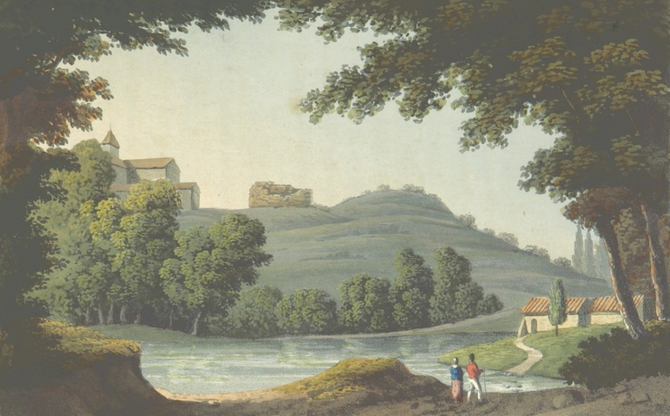 A Visit to the Monastery of La Trappe - Ruins of Abelard's House (1818)