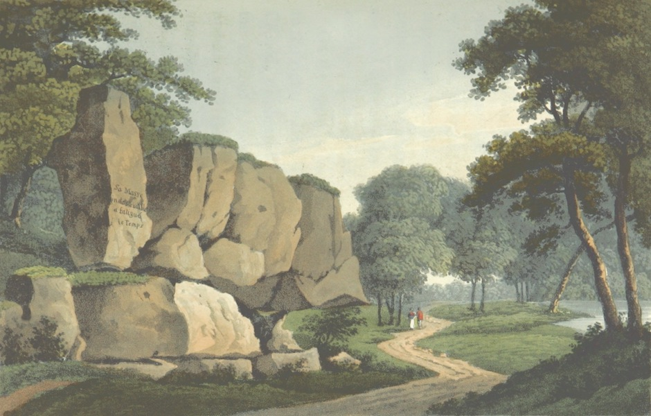 A Visit to the Monastery of La Trappe - Granite Rock in the Garenne (1818)
