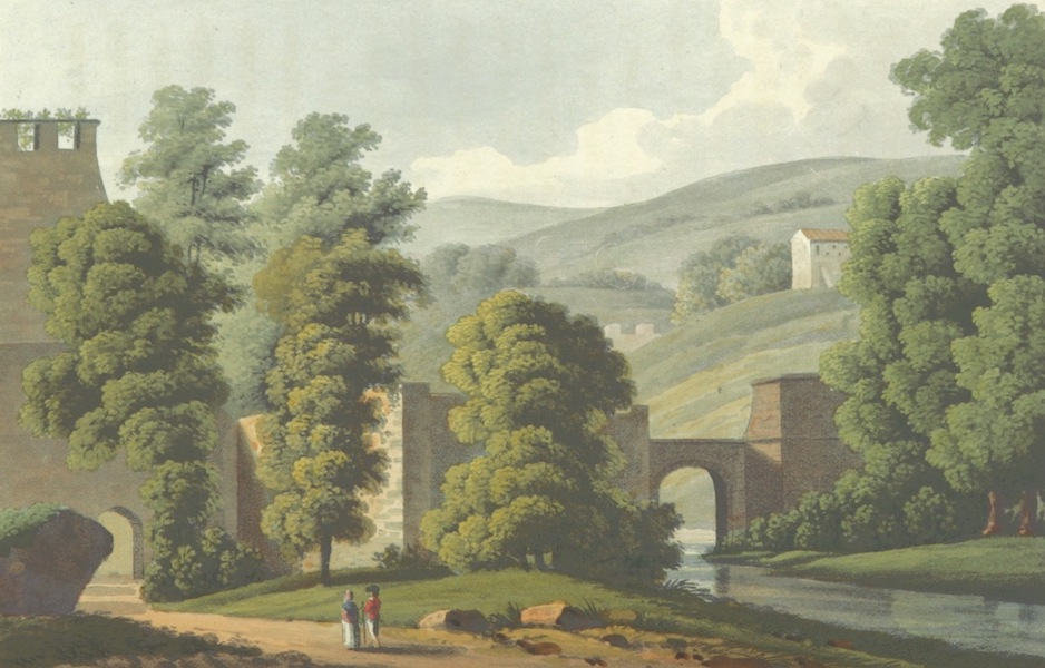 A Visit to the Monastery of La Trappe - Mill aux Chevres (1818)
