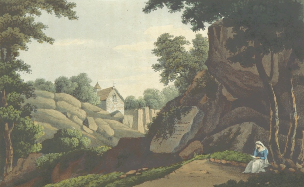 A Visit to the Monastery of La Trappe - Grotto of Heloise at Clisson (1818)