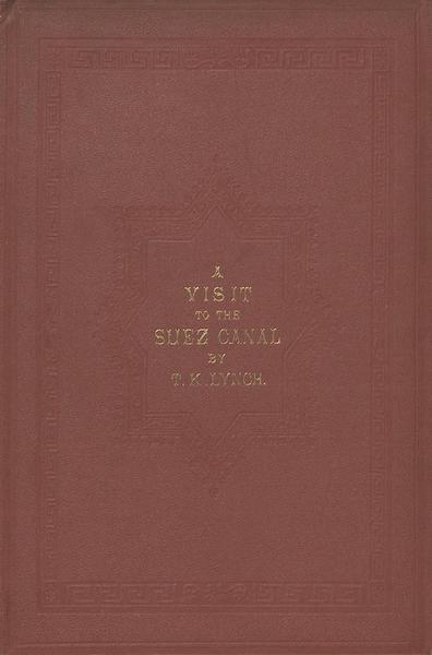 A Visit to the Suez Canal - Front Cover (1866)