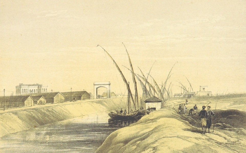 A Visit to the Suez Canal - Ismalia (1866)