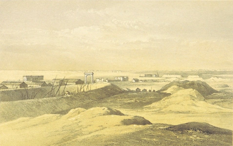 A Visit to the Suez Canal - Ismalia near the Banks of the Sweet-Water Canal (1866)