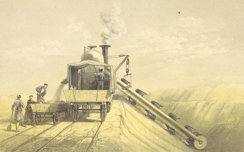 A Visit to the Suez Canal - Dredging Machines as Applied to Dry Land Excavations (1866)