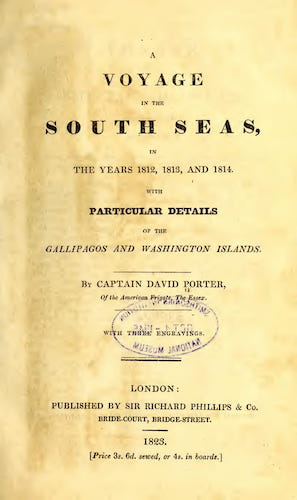 English - A Voyage in the South Seas