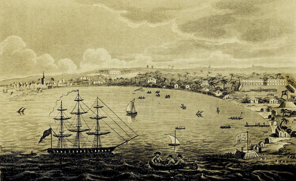 A Voyage in the West Indies - Carlisle Bay and Bridge Town, Barbadoes (1820)