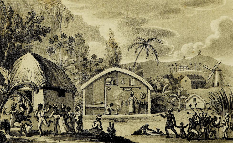 A Voyage in the West Indies - Slaves in Barbadoes (1820)