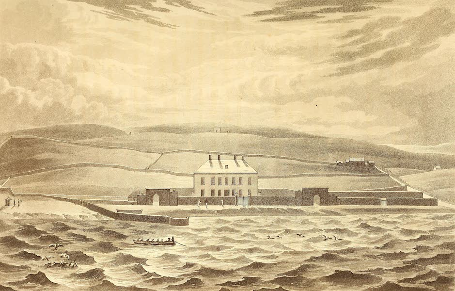 A Voyage of Discovery - Gardie House, the Residence of William Mouat Esq. (1819)