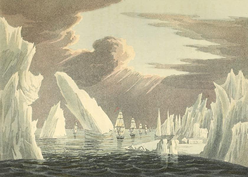 Passage Through the Ice - June 16th, 1818