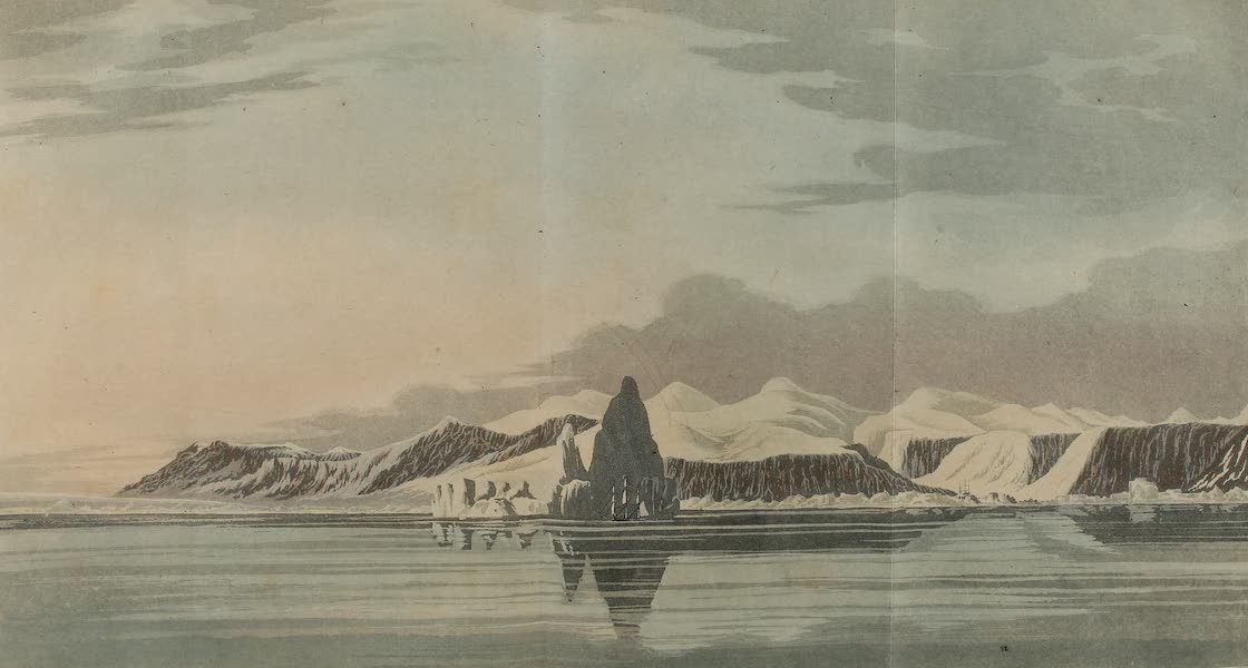 A Voyage of Discovery - Island of Disco and Icebergs (1819)