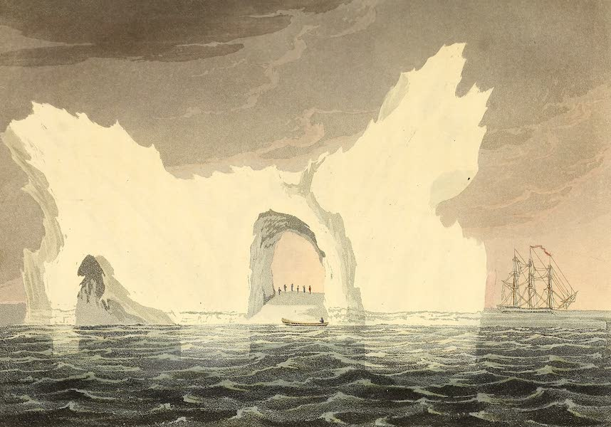 A Voyage of Discovery - A Remarkable Iceberg. July, 1818. Lat. 74. & Long 65. W. (1819)