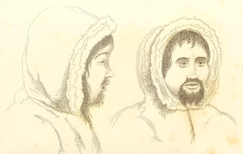 [left] Marshuik. [right] Meigack. Arctic Highlanders, Natives of Lat. 77 North Long. 65 West.