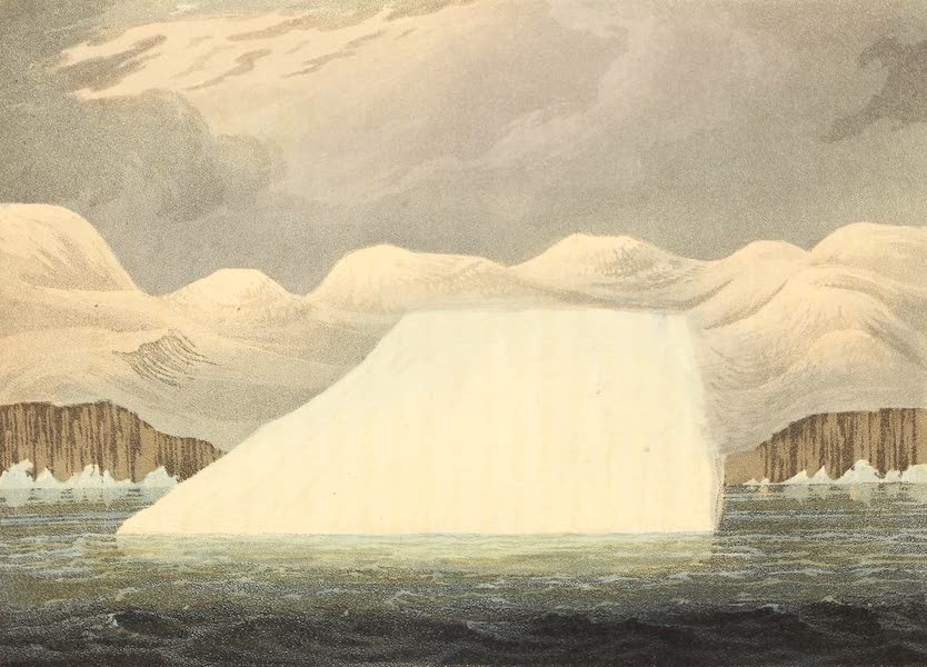 A Voyage of Discovery - Petoowack. Formation of an Iceberg (1819)