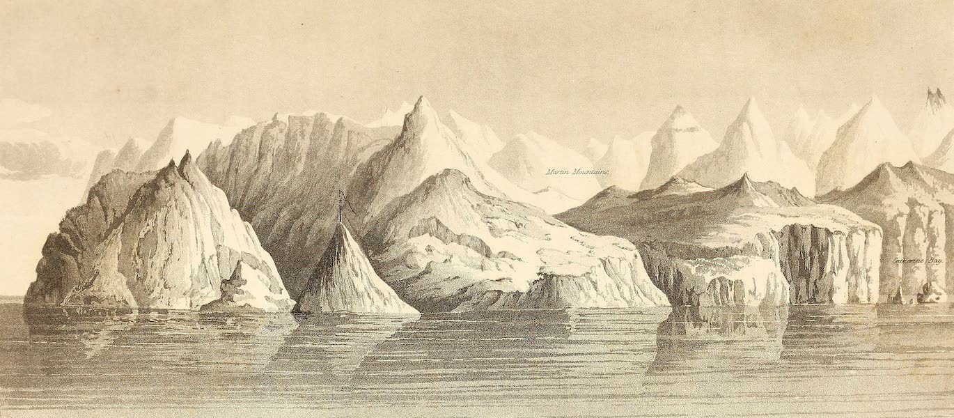 Cape Byam Martin, Possession Mount, and Cape Fanshaw, discovered Sept 1st, 1818 by H.M.S Isabella