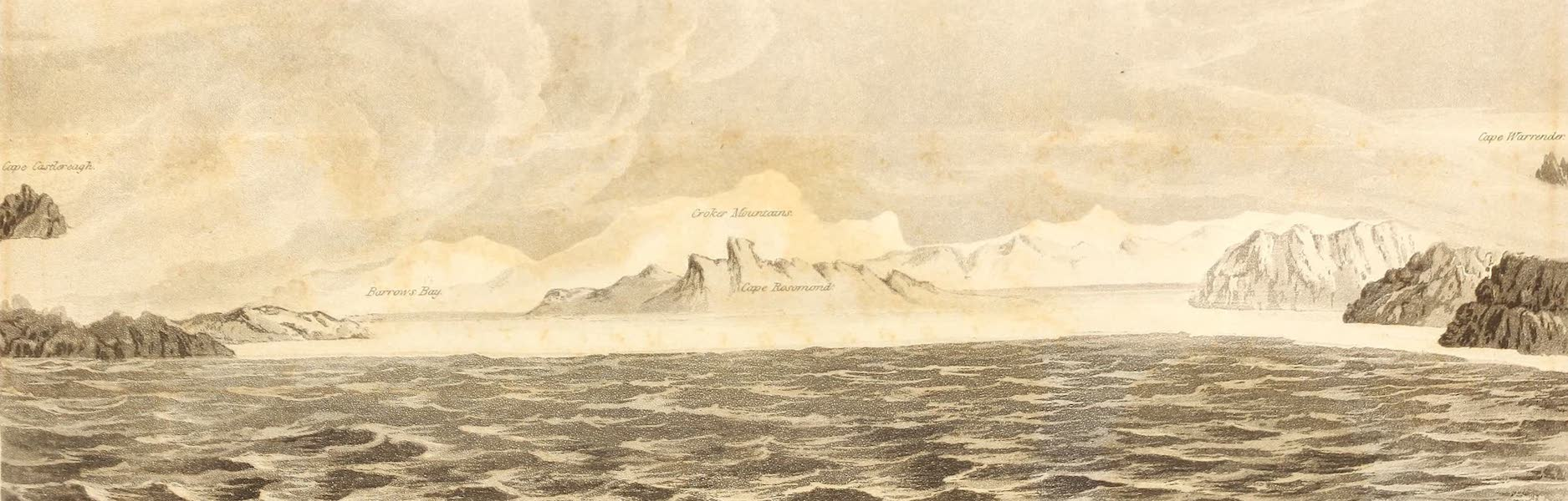 Lancaster Sound, as seen from H.M.S. Isabella