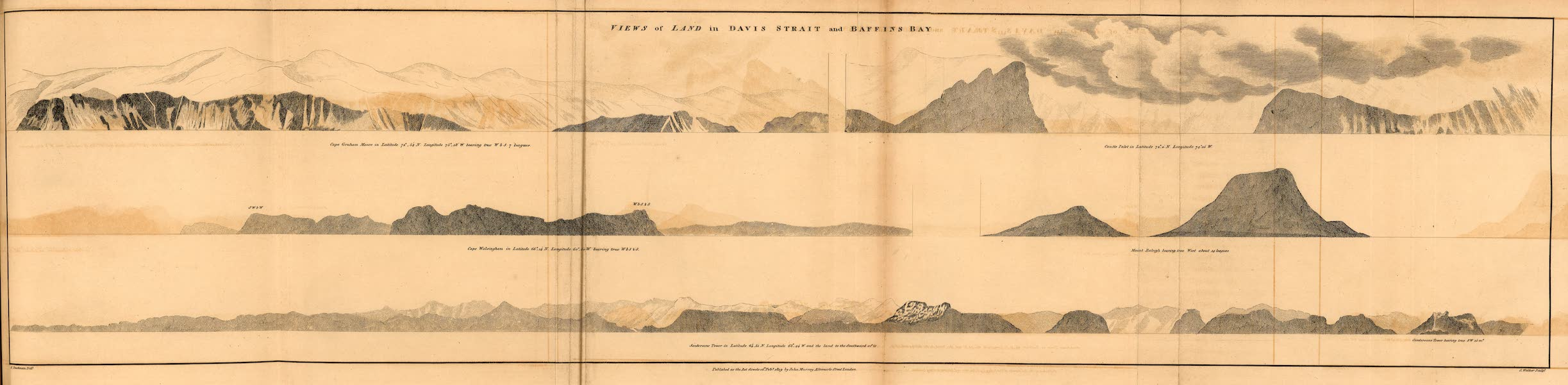 A Voyage of Discovery - Views of Land in Davis Strait and Baffin's Bay (1819)