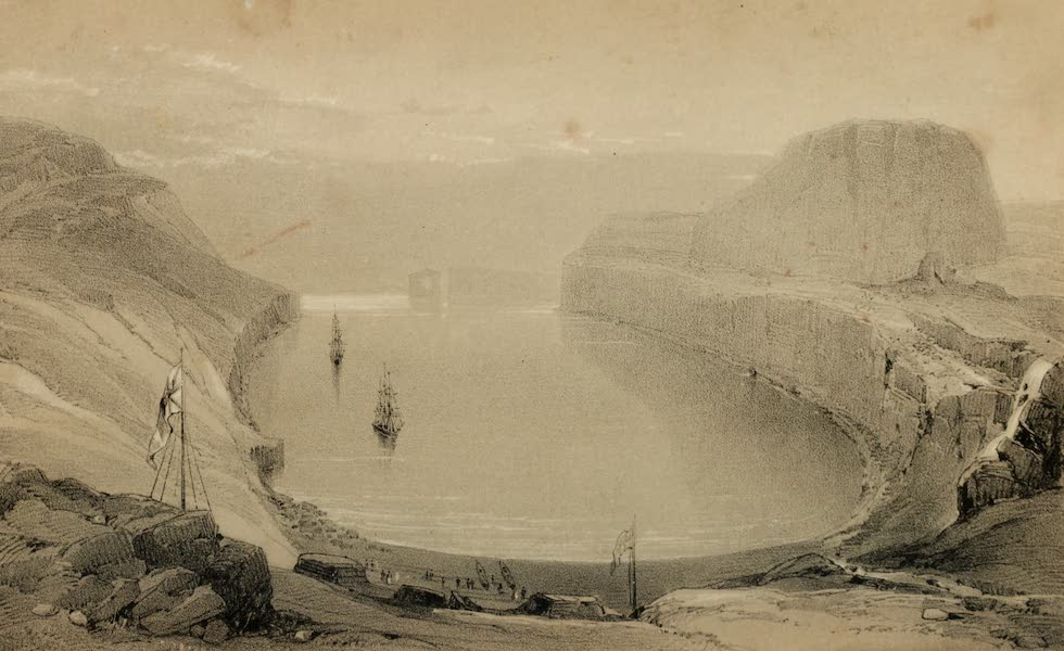 A Voyage of Discovery and Research in the Southern and Antarctic Regions Vol. 1 - Christmas Harbour, Kirguelen Island (1847)