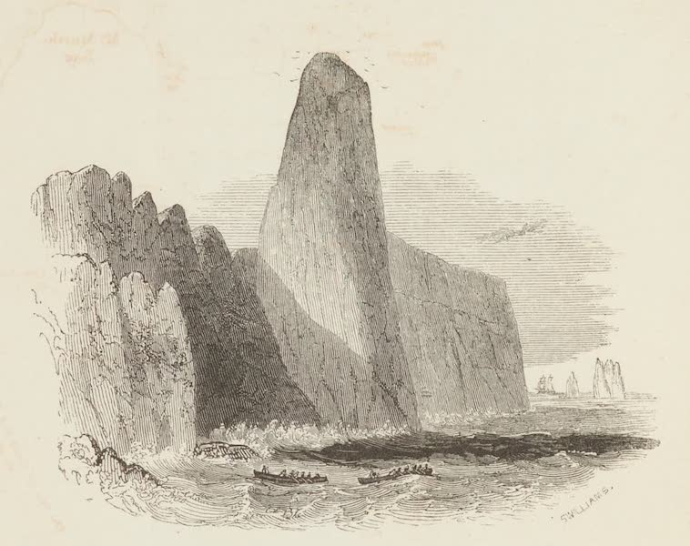 Nine Pin Rock, Trinidad