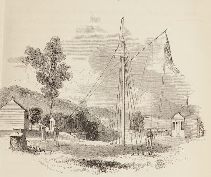 A Voyage of Discovery and Research in the Southern and Antarctic Regions Vol. 1 - Ross Bank Observatory (1847)