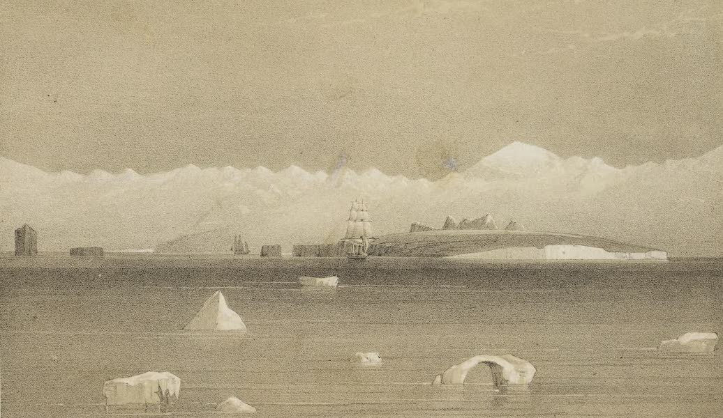 A Voyage of Discovery and Research in the Southern and Antarctic Regions Vol. 1 - Mount Sabine and Possession Island (1847)