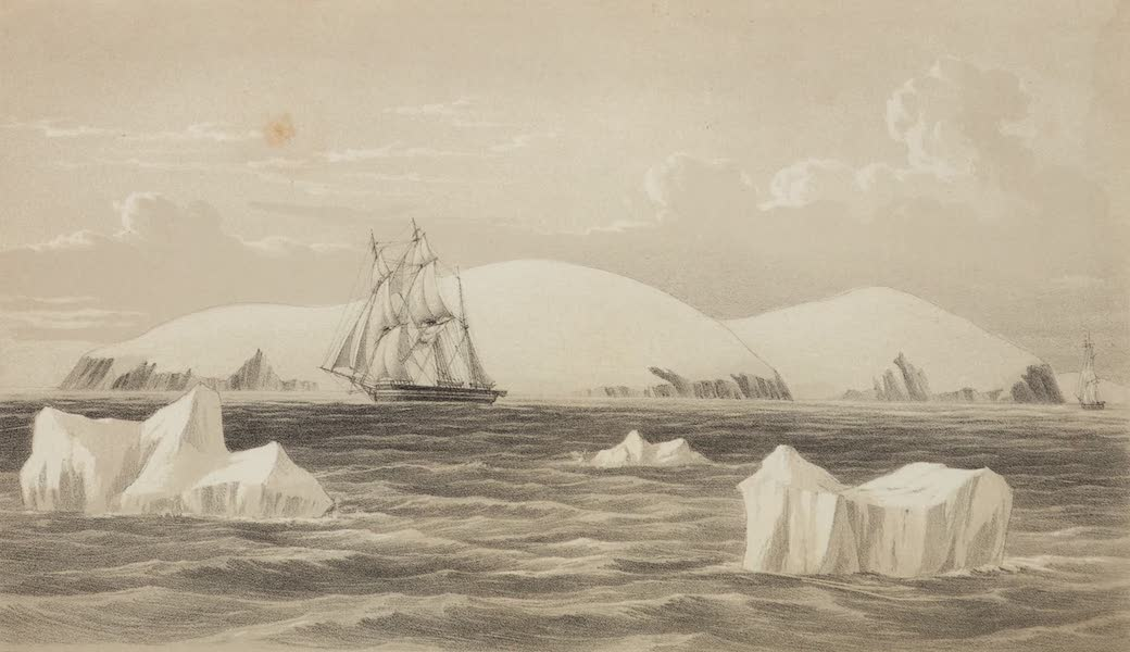 A Voyage of Discovery and Research in the Southern and Antarctic Regions Vol. 1 - Coulman Island (1847)