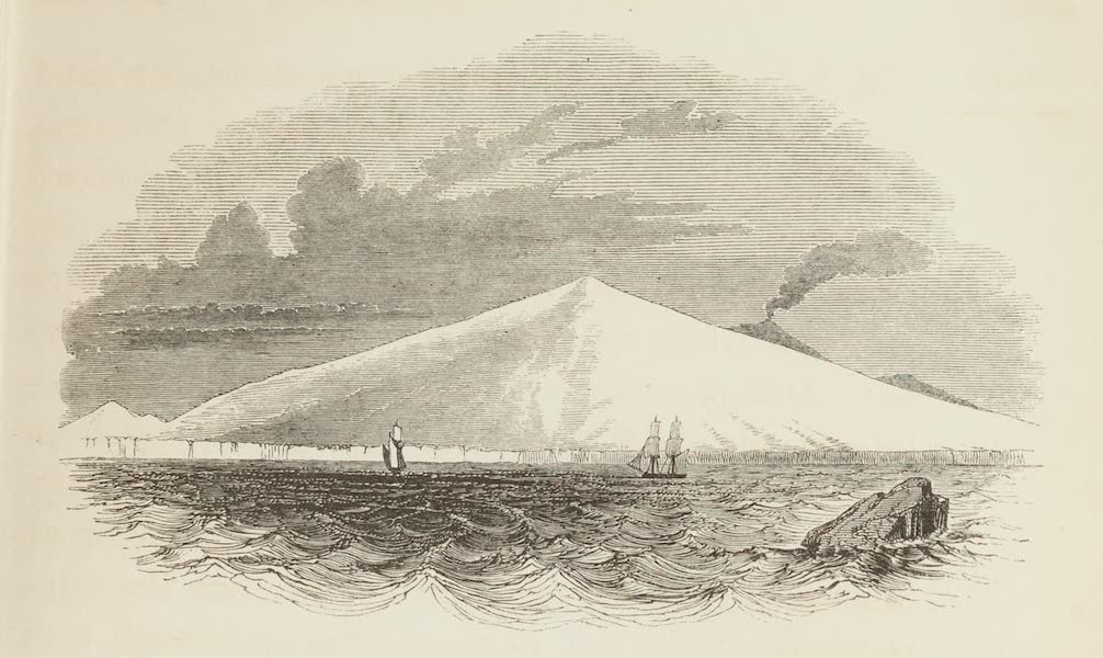 A Voyage of Discovery and Research in the Southern and Antarctic Regions Vol. 1 - Cape Crozier and Mount Terror (1847)