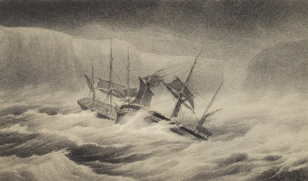 A Voyage of Discovery and Research in the Southern and Antarctic Regions Vol. 2 - The Collision (1847)