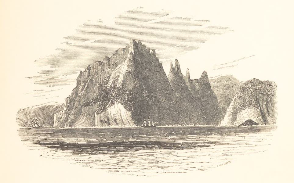 A Voyage of Discovery and Research in the Southern and Antarctic Regions Vol. 2 - Cape Horn (1847)