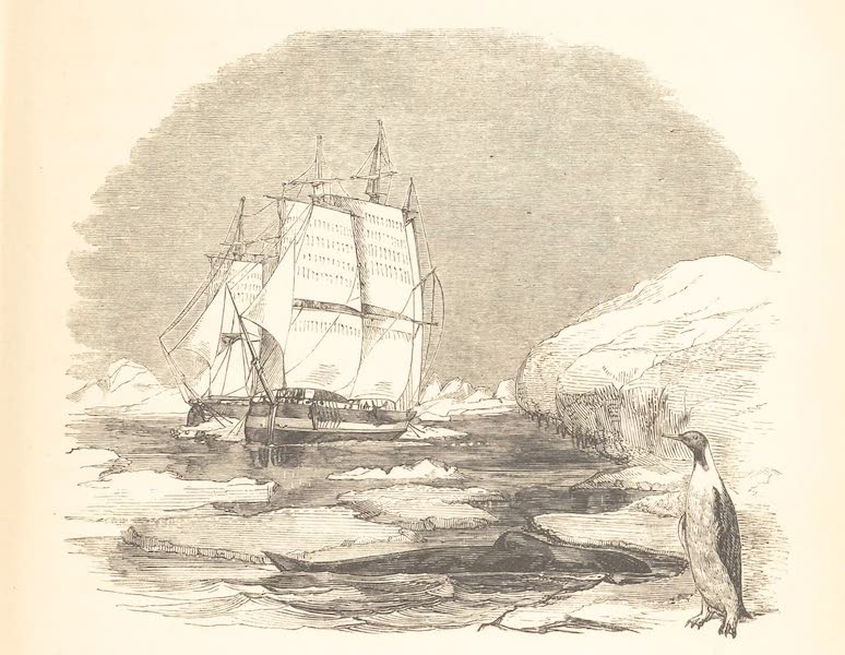 A Voyage of Discovery and Research in the Southern and Antarctic Regions Vol. 2 - Pushing through the Pack (1847)