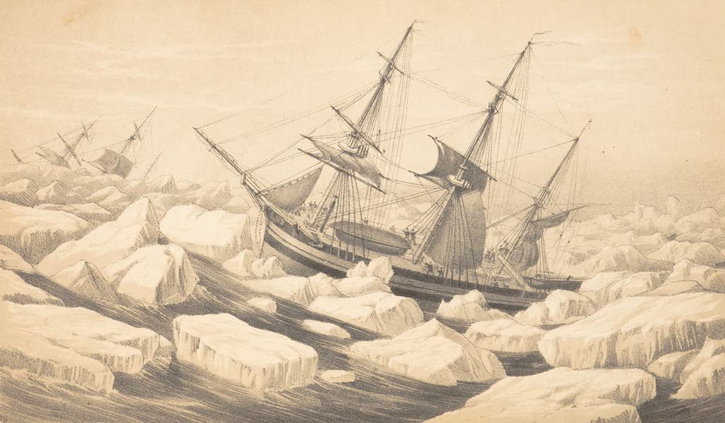 A Voyage of Discovery and Research in the Southern and Antarctic Regions Vol. 2 - A Gale in the Pack (1847)