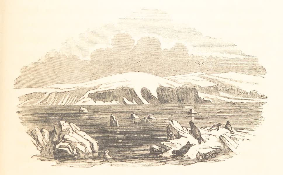 A Voyage of Discovery and Research in the Southern and Antarctic Regions Vol. 2 - Mount Haddington and Cape Gage (1847)