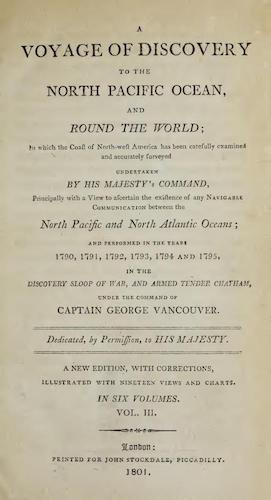 English - A Voyage of Discovery to the North Pacific Ocean Vol. 3
