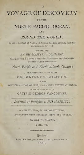 English - A Voyage of Discovery to the North Pacific Ocean Vol. 6
