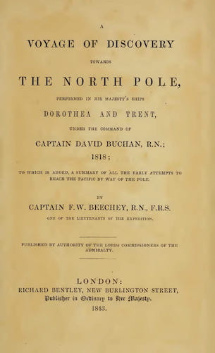 English - A Voyage of Discovery Towards the North Pole