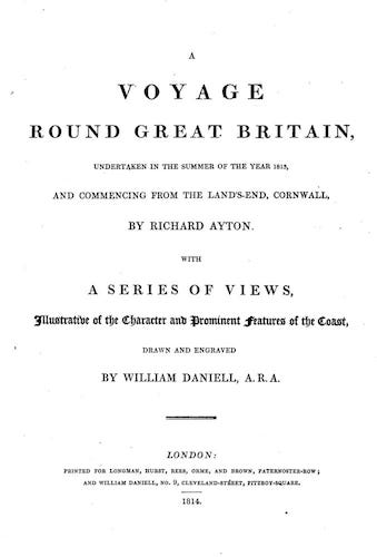 Aquatint & Lithography - A Voyage Round Great Britain Vol. 1