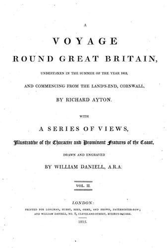 Aquatint & Lithography - A Voyage Round Great Britain Vol. 2
