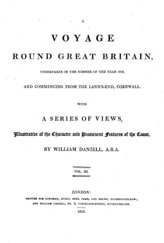 English - A Voyage Round Great Britain Vol. 3