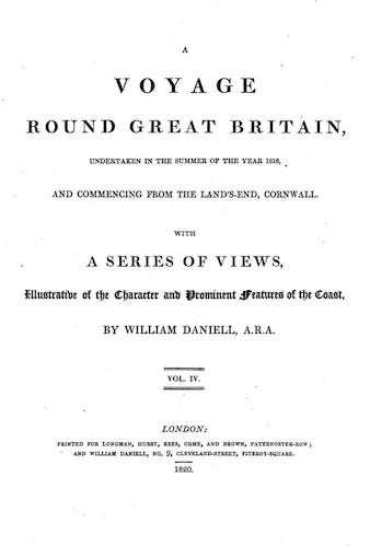 English - A Voyage Round Great Britain Vol. 4